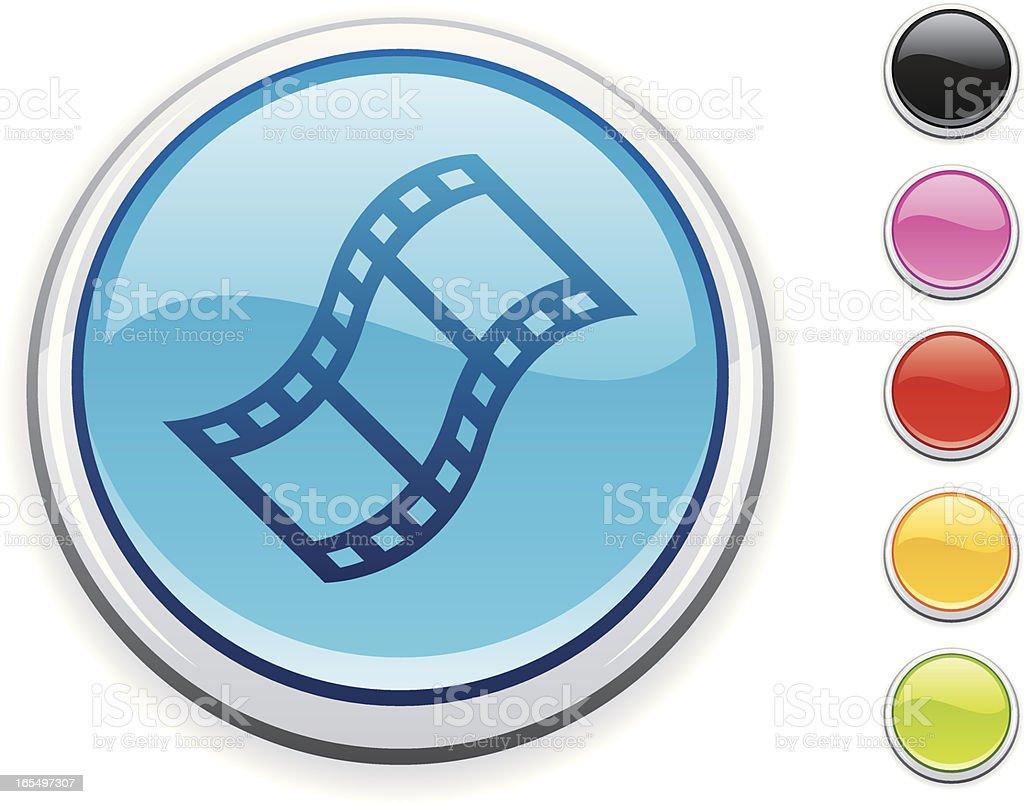 Film icon royalty-free stock vector art