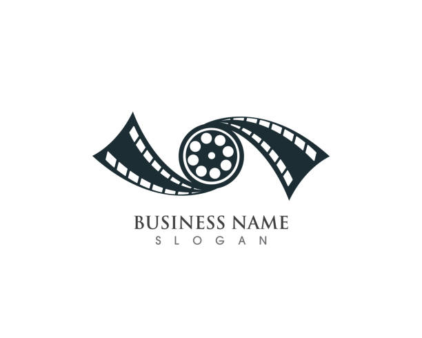 Film Strip, Film Roll, Cinema Production Logo Designs Inspiration.. Royalty  Free Cliparts, Vectors, And Stock Illustration. Image 114269872.