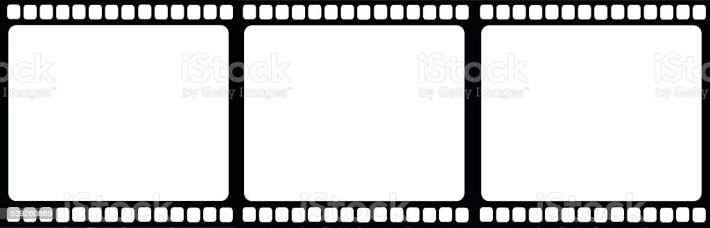 Film reel illustration isolated vector illustration