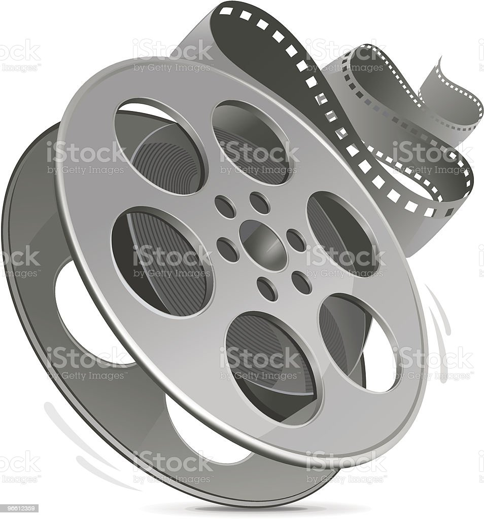 Film reel - Royalty-free Apparatuur vectorkunst