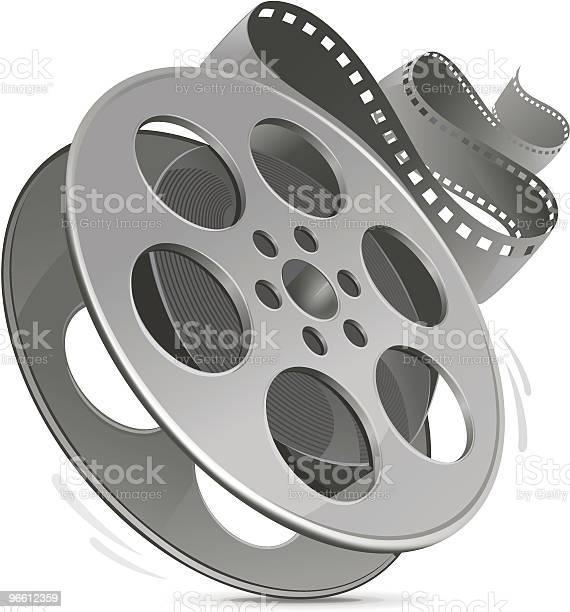 Film Reel Stock Vektor Art und mehr Bilder von Ausrüstung und Geräte