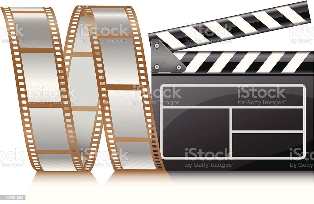 Film reel - VECTOR - Illustration...