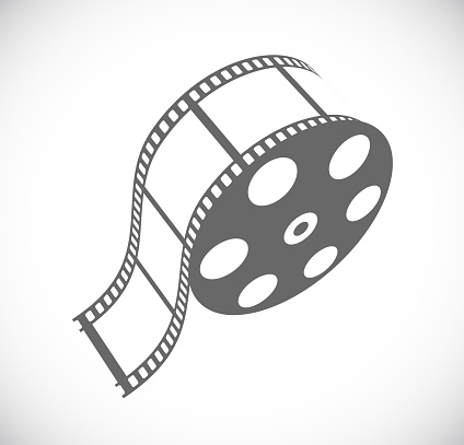 film roll 3d icon
