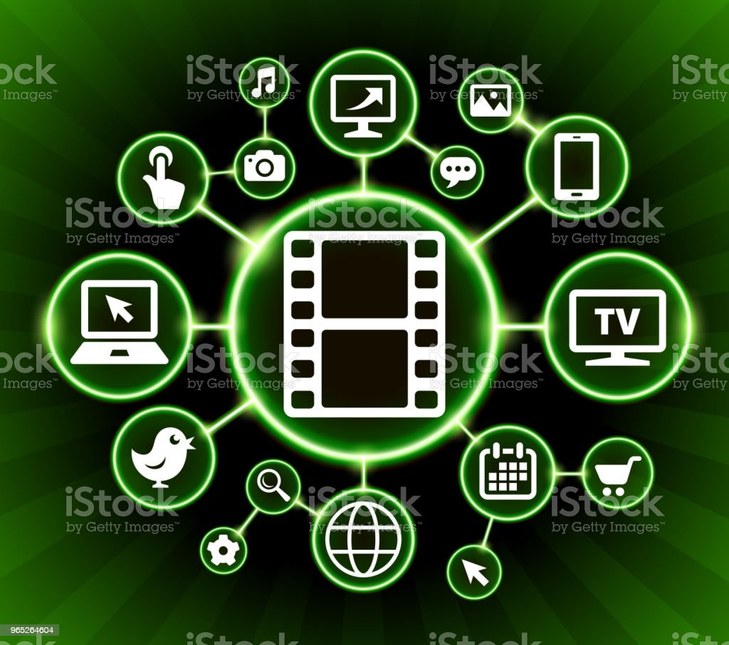 Film Roll Internet Communication Technology Dark Buttons Background royalty-free film roll internet communication technology dark buttons background stock vector art & more images of backgrounds