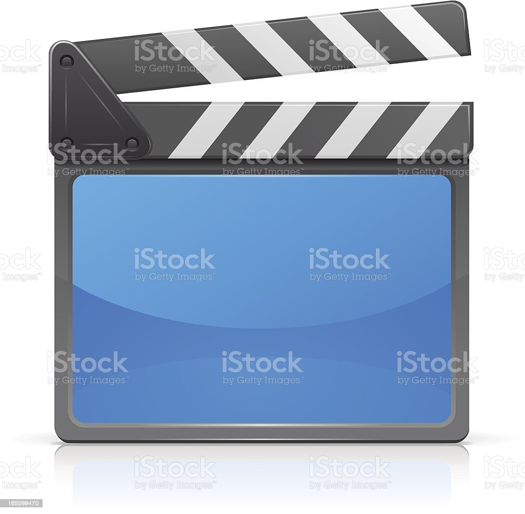 Film slate royalty-free film slate stock vector art & more images of acting - performance
