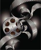 Film Strip Elements Illustration