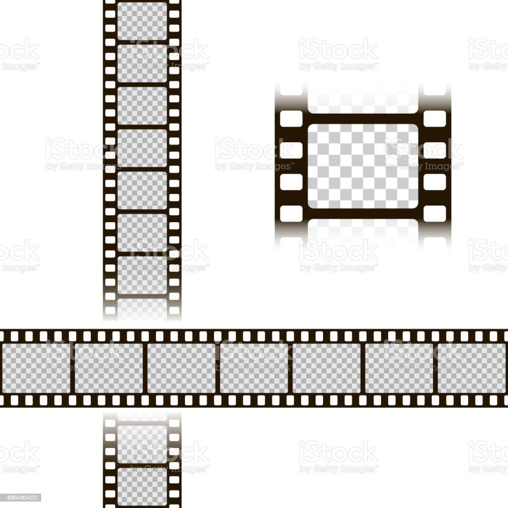 Filmstreifenset Sammlung Von Film Für Die Kamera Kinoframe ...