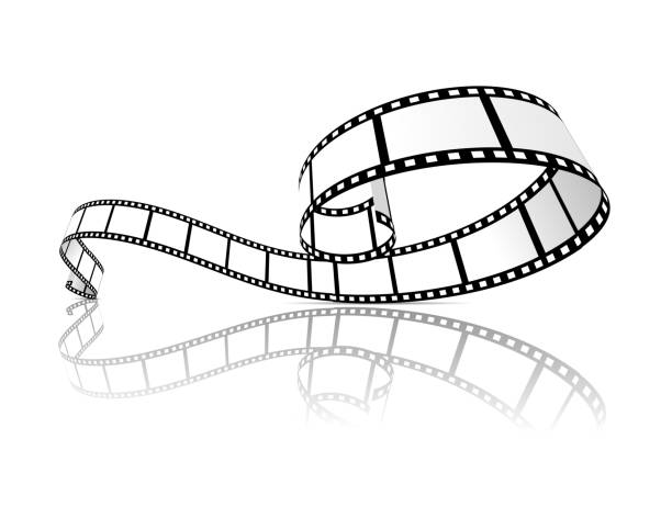 stockillustraties, clipart, cartoons en iconen met film strip vectorillustratie - menselijke rol