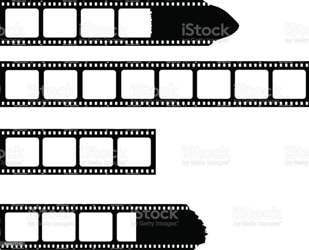 Film-Streifen mit Bilderrahmen Lizenzfreies filmstreifen mit bilderrahmen stock vektor art und mehr bilder von bettbezug