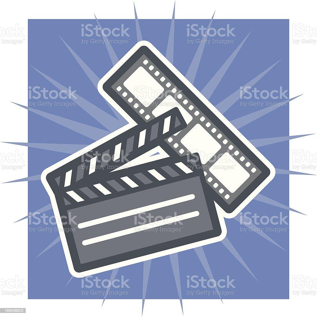 film royalty-free stock vector art