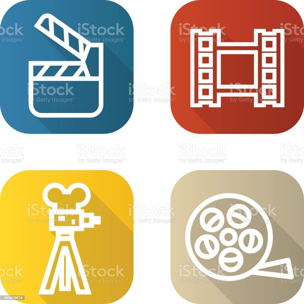 Royalty Free Movie Reel Border Pics Clip Art Vector Images