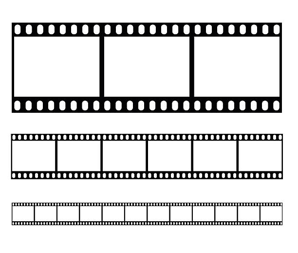 filmstrip set illustration vector illustration - record analog audio stock illustrations