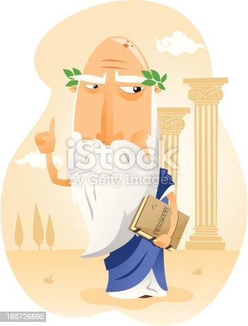 istock Filósofo de la Antigua Grecia 165726695