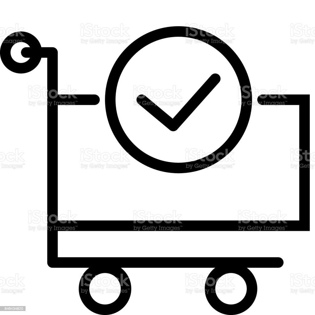 e94ebbcbbd62 Finalizar a venda ícone carrinho de compras vetores de finalizar a venda  ícone carrinho de compras