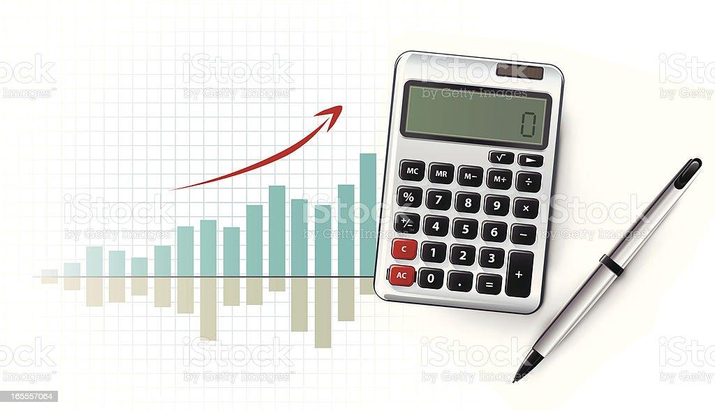 finance 1 royalty-free stock vector art