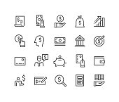 istock Finance and Money Icons - Classic Line Series 1178716425