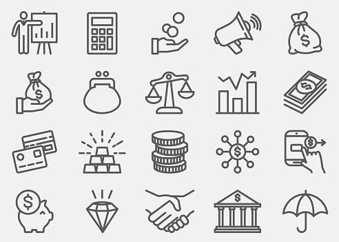 Business symbol stock illustrations