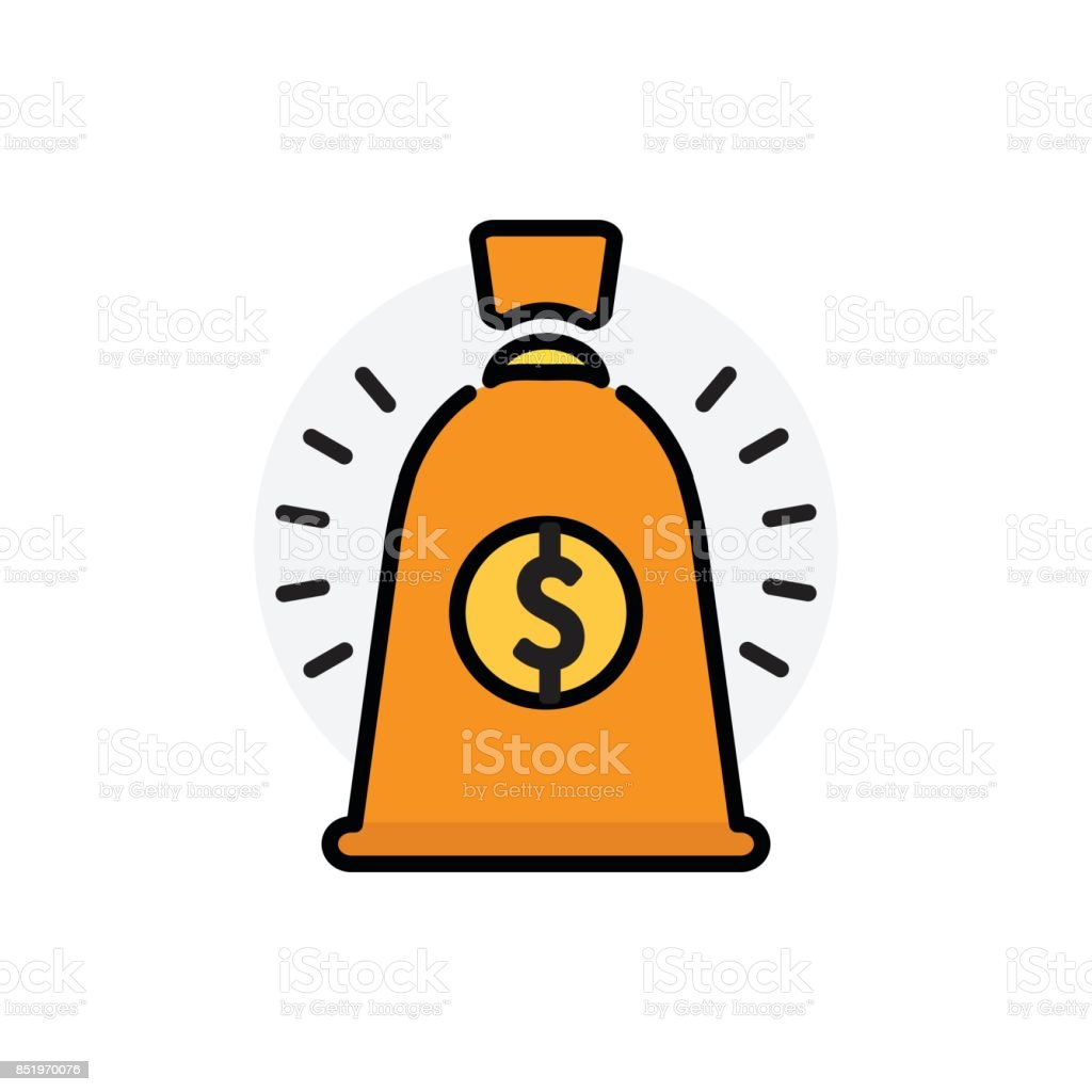 royalty free money bag and finance infographic template clip art rh istockphoto com Counterfeit Money Clip Art Play Money Clip Art