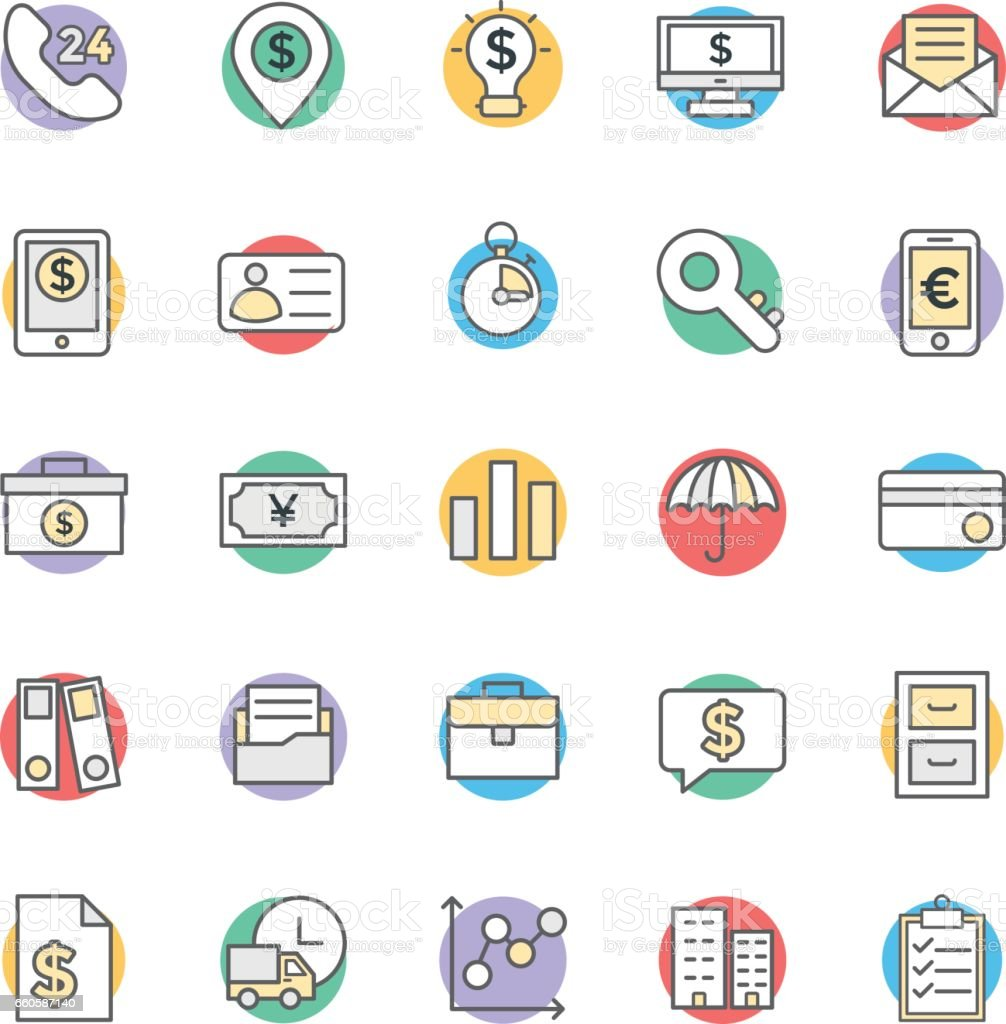 Finance Cool Vector Icons 3 royalty-free finance cool vector icons 3 stock vector art & more images of briefcase