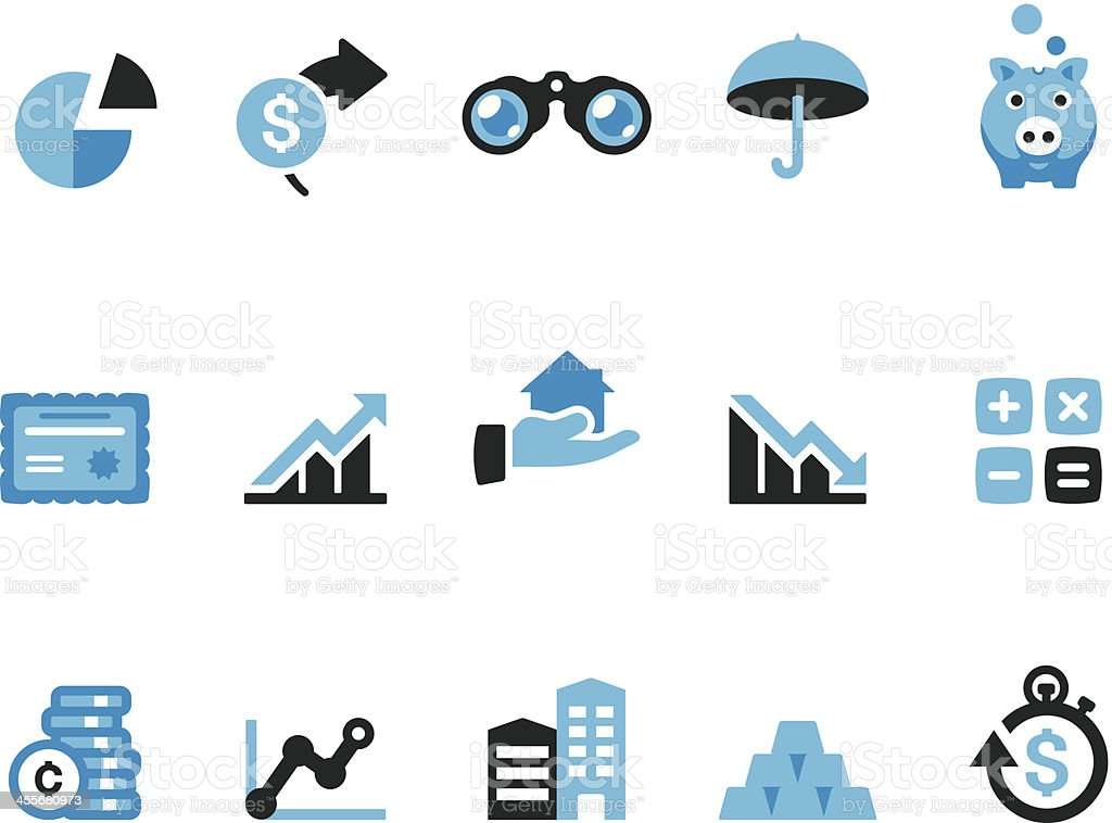 Finance / Coolico icons royalty-free stock vector art