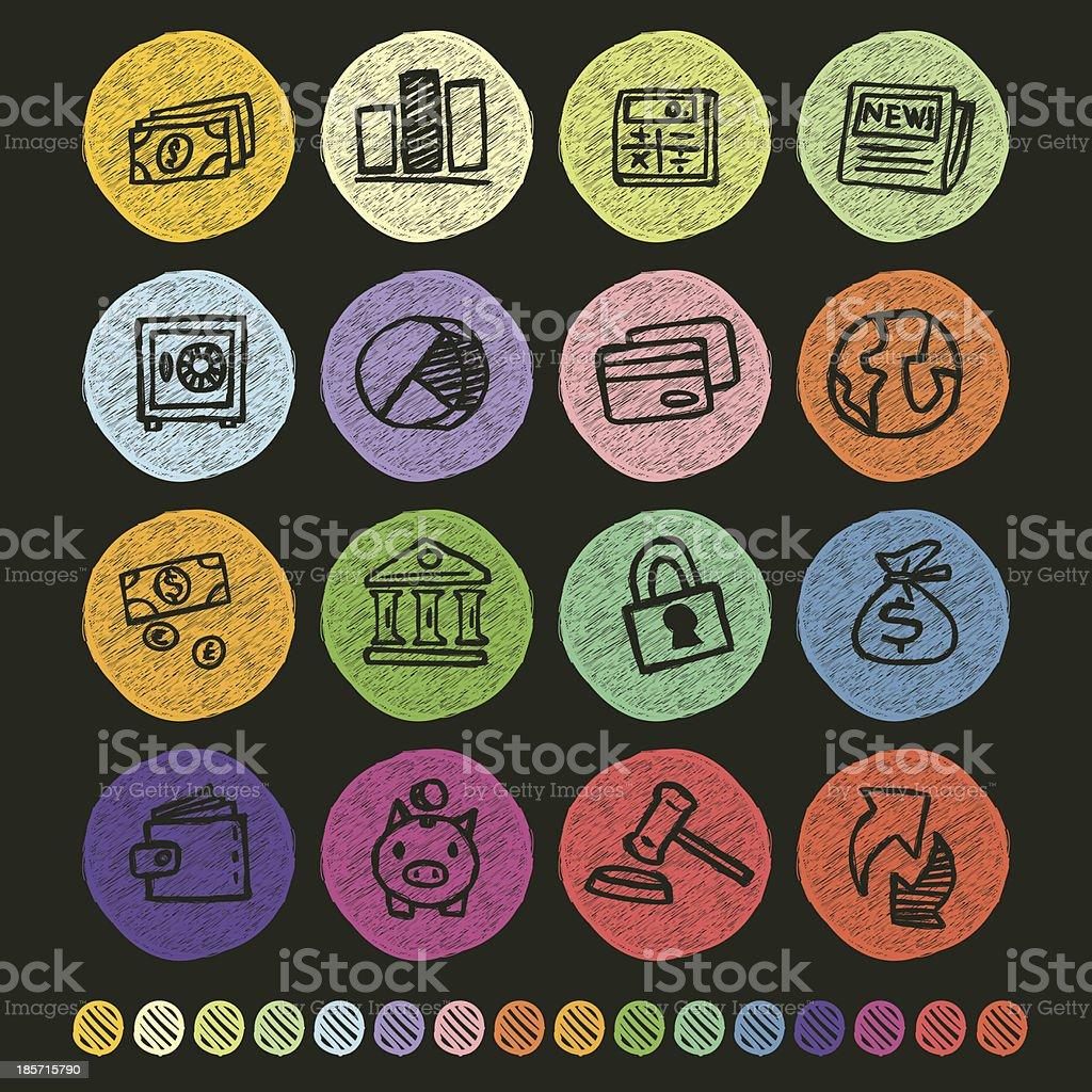 Finance Icon royalty-free stock vector art