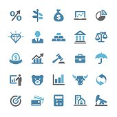 Finance Icons - Qual Series