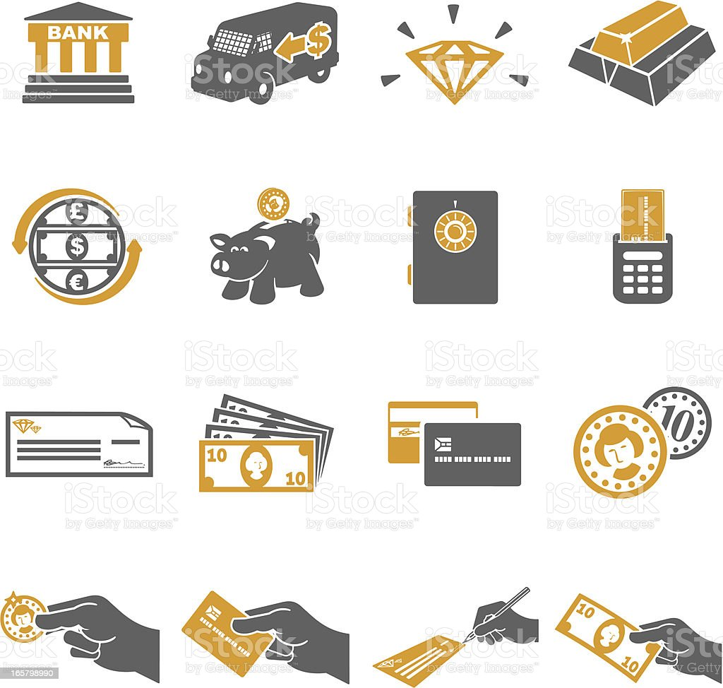 Finance Icons royalty-free finance icons stock vector art & more images of armored truck