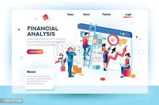 istock Finance Infographic Analytics Concept 1034757556