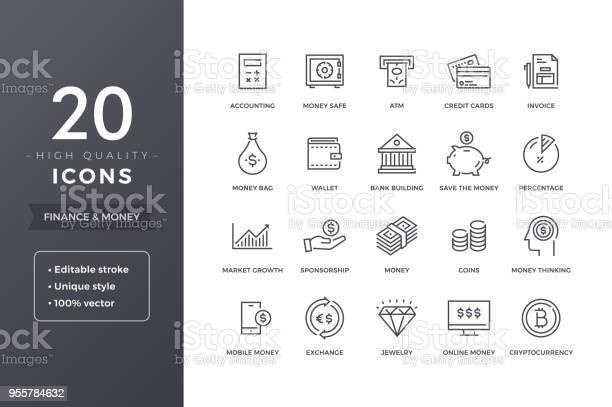 財務線圖示向量圖形及更多互聯網圖片
