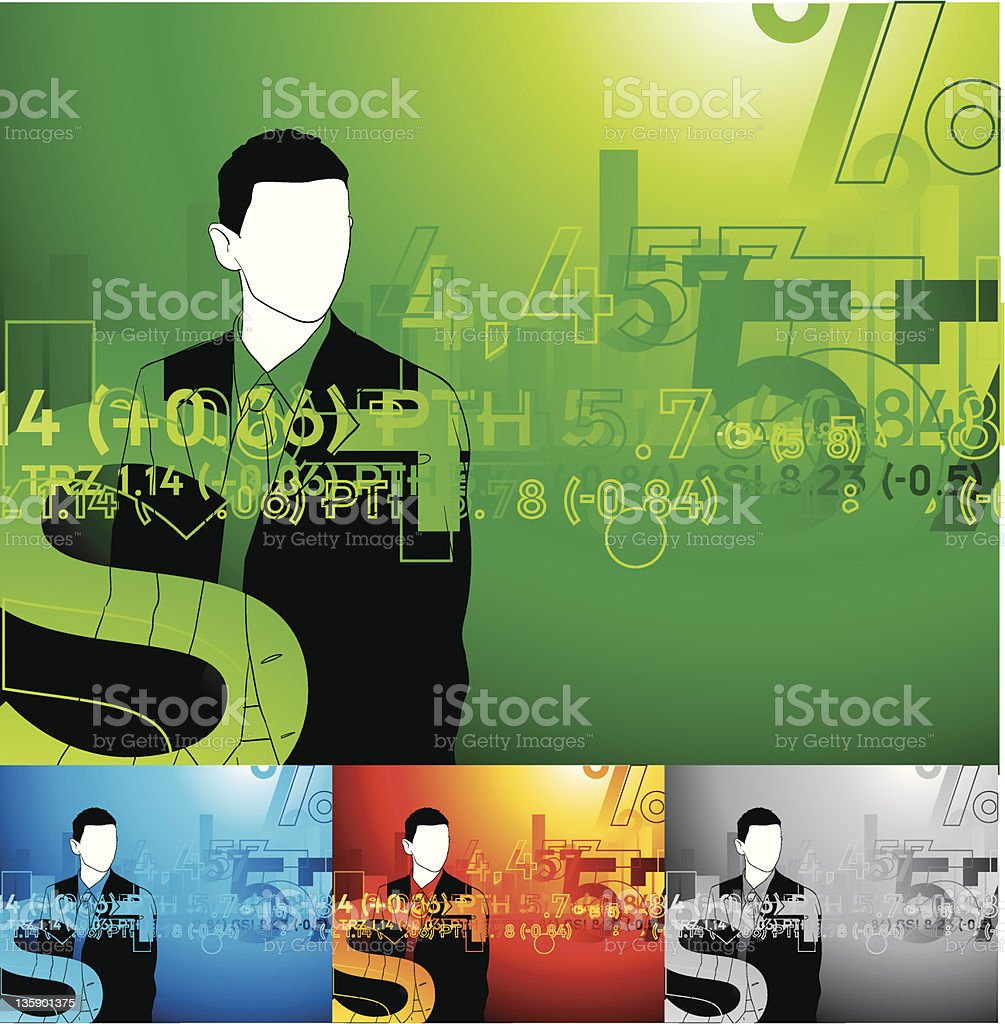 finance man royalty-free finance man stock vector art & more images of adult