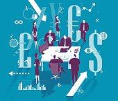 Vector illustration - Finance management