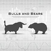 Finance market background