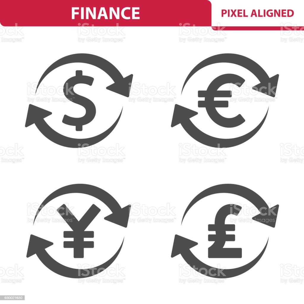 Finance Money Icons Stock Vector Art More Images Of Arrow Symbol