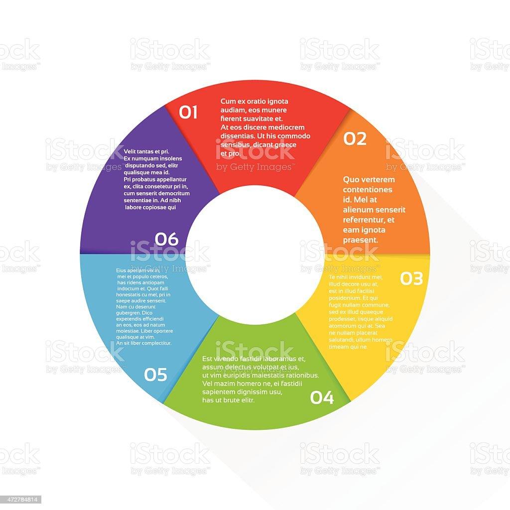 Ilustración de Pastel De Finanzas Diagrama Círculo Infografía ...