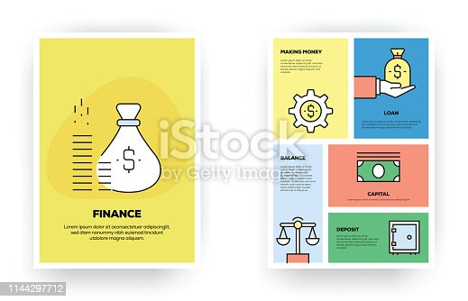 Finance Related Infographic