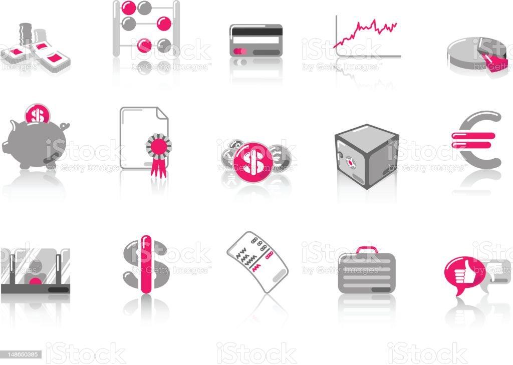 Finance - SunnydayPINK Series royalty-free finance sunnydaypink series stock vector art & more images of award