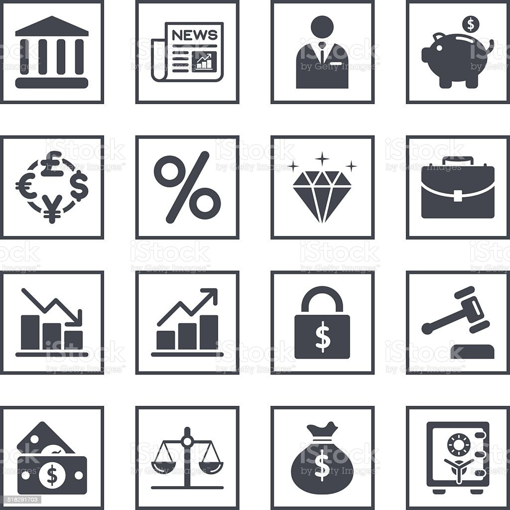 Finance trading related symbols stock vector art more images of finance trading related symbols royalty free finance trading related symbols stock vector art amp biocorpaavc Gallery