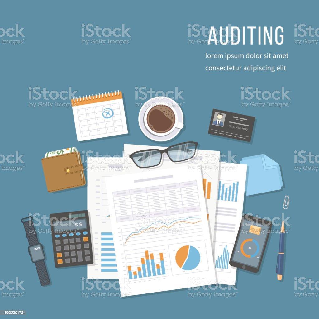 Rechnungsprüfung Rechnungslegung Analytik Datenanalyse Bericht