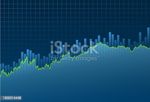 istock Financial background 1300014446