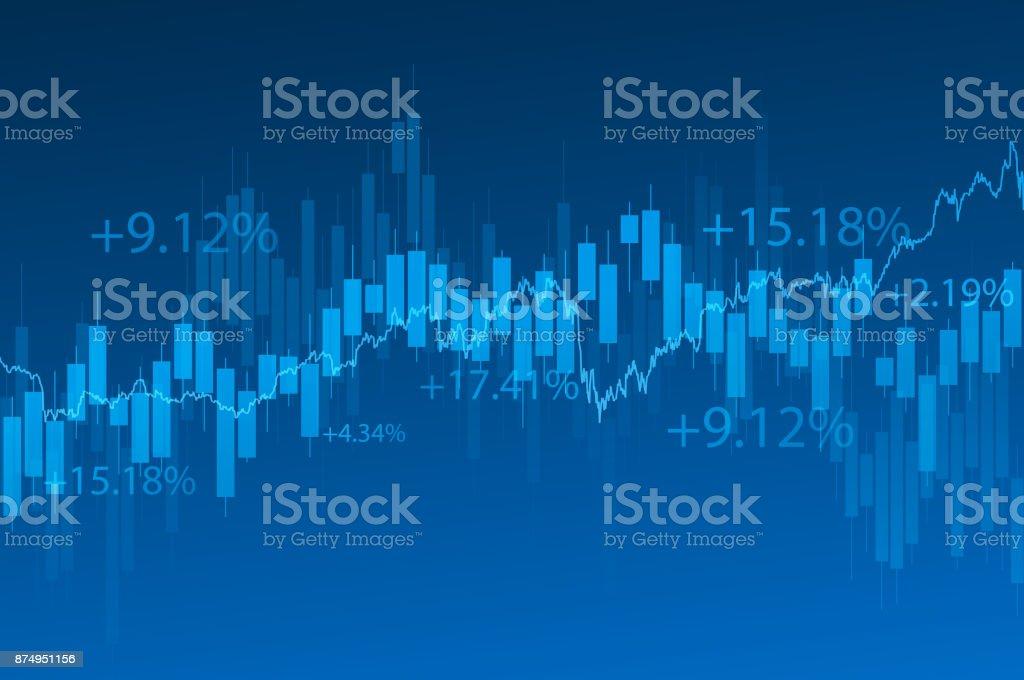Fond financier - Illustration vectorielle