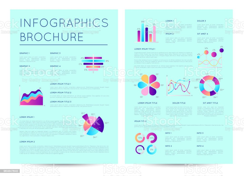Financial brochure with indicators diagrams royalty-free financial brochure with indicators diagrams stock vector art & more images of abstract