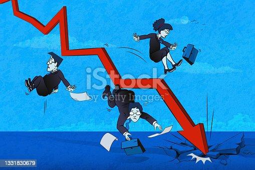 istock Financial Crash 1331830679