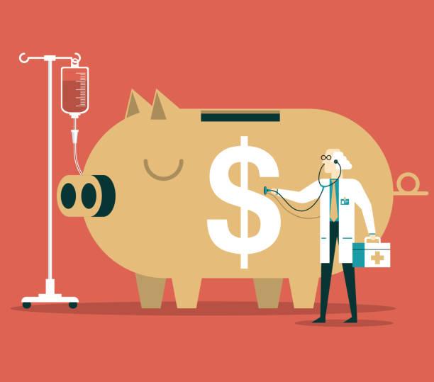 金融危機 - 金融與經濟 幅插畫檔、美工圖案、卡通及圖標