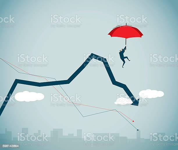 Financial Crisis Stockvectorkunst en meer beelden van Abstract