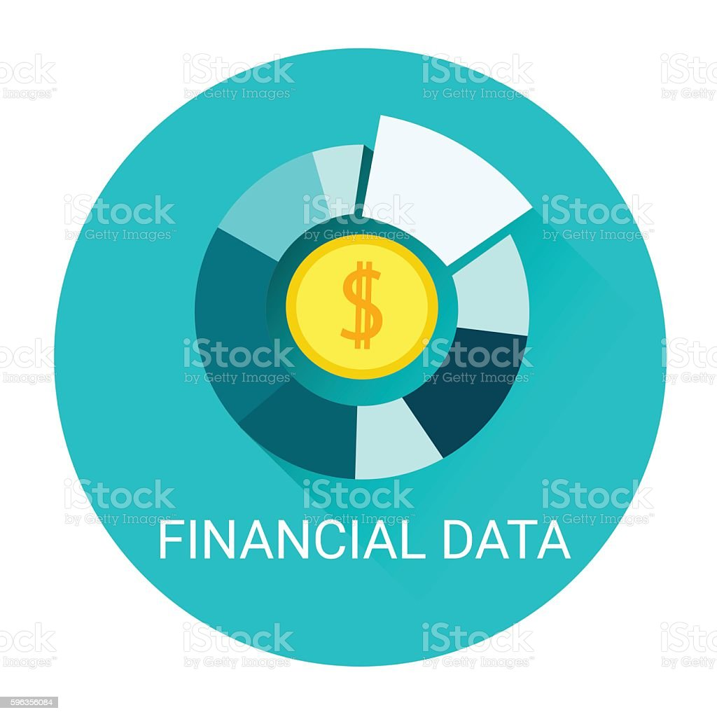 Financial Data Diagram Business Icon royalty-free financial data diagram business icon stock vector art & more images of abstract