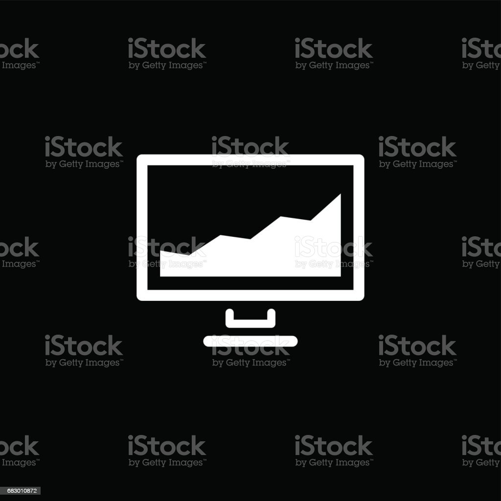 Financial Data Icon. Business Concept. Flat Design royalty-free financial data icon business concept flat design stock vector art & more images of advice