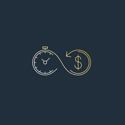 Financial Investments Concept Money Insurance Icon Pension Fund - Stockowe grafiki wektorowe i więcej obrazów Akcjonariusz