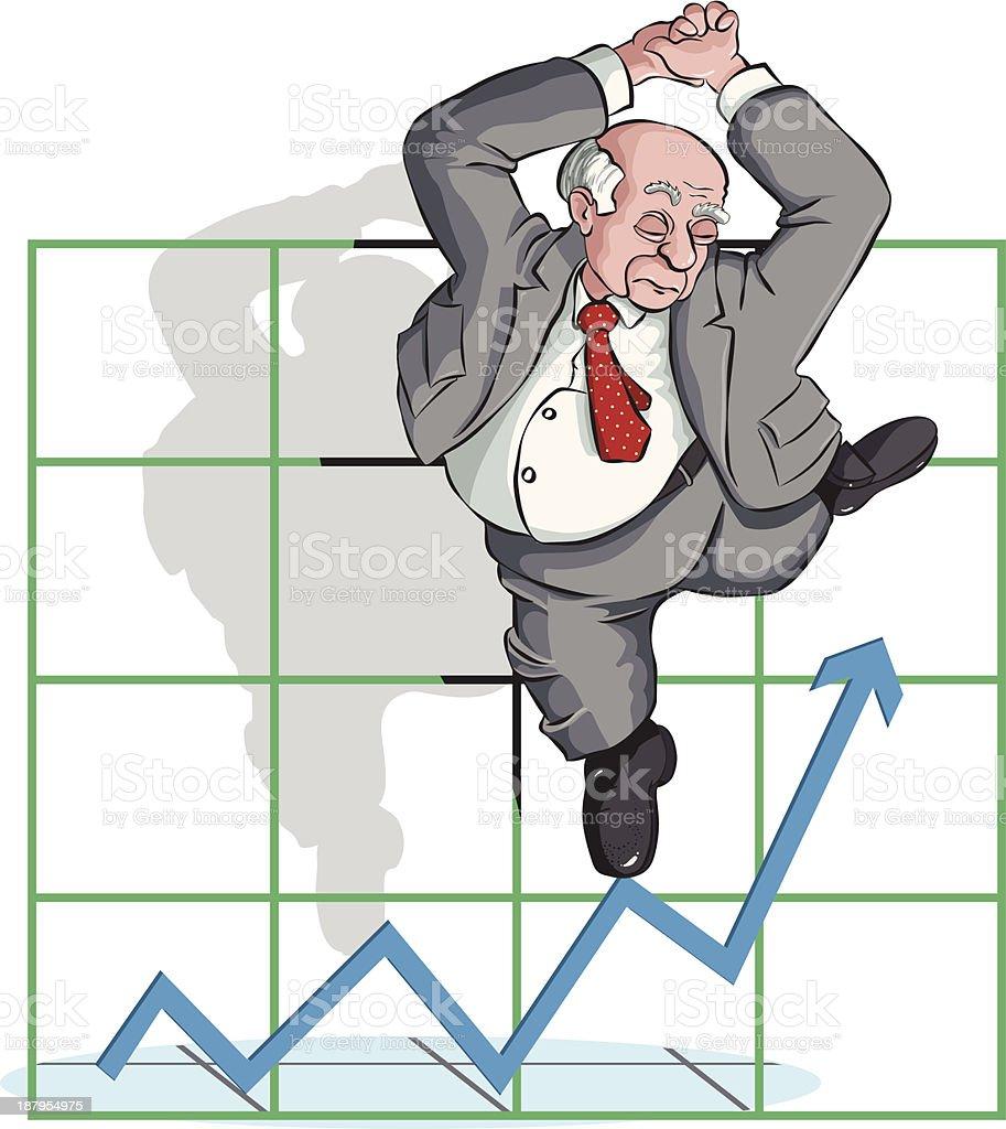 Financial Performance vector art illustration
