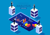Financial services and data analysis statistics management