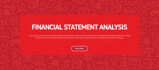 Financial Statement Analysis Concept - Business Related Seamless Pattern Web Banner Financial Statement Analysis Concept - Business Related Seamless Pattern Web Banner banking patterns stock illustrations